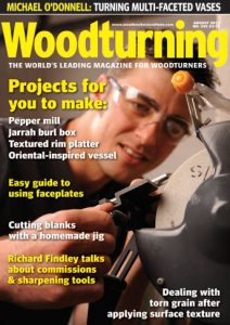 Woodturning Magazine cover 243